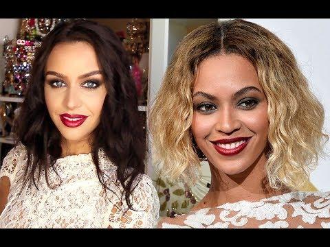 Beyonce Inspired Makeup & FAUX Bob Tutorial!
