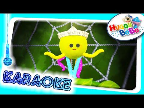 Itsy Bitsy Spider | Sing Along Karaoke | Nursery Rhymes | By HuggyBoBo