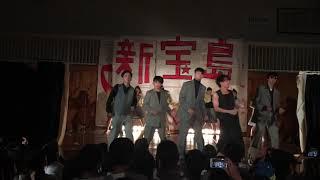 長野県白馬高校スキー部によるサカナクション、新宝島 楽器はゴミ箱とダ...