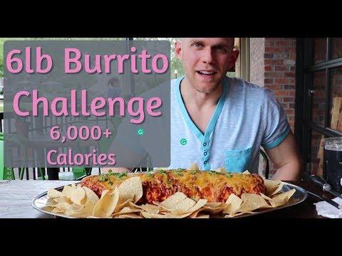 6lb Burrito Challenge| 6,000+ Calorie Food Challenge