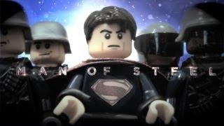 Man of Steel: The LEGO Trailer #3 [HD]