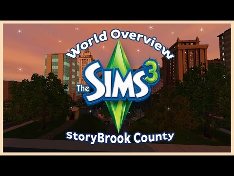 The Sims 3 : Storybrook County World First Impressions + Overview (FREE WORLD)