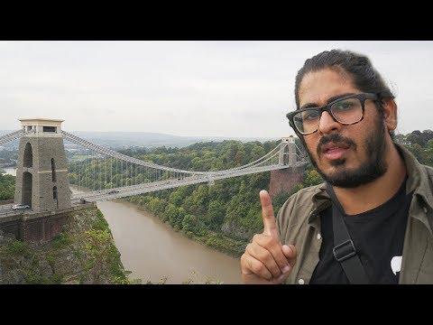 ENGLAND HAS THIS?!? - Clifton Suspension Bridge , Bristol England