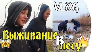 Мини Vlog - Выживание в лесу, выгнали из дома, чуть не спалили камыши!!!