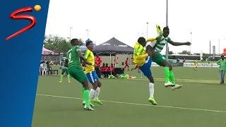 kung fu retaliation red card goal