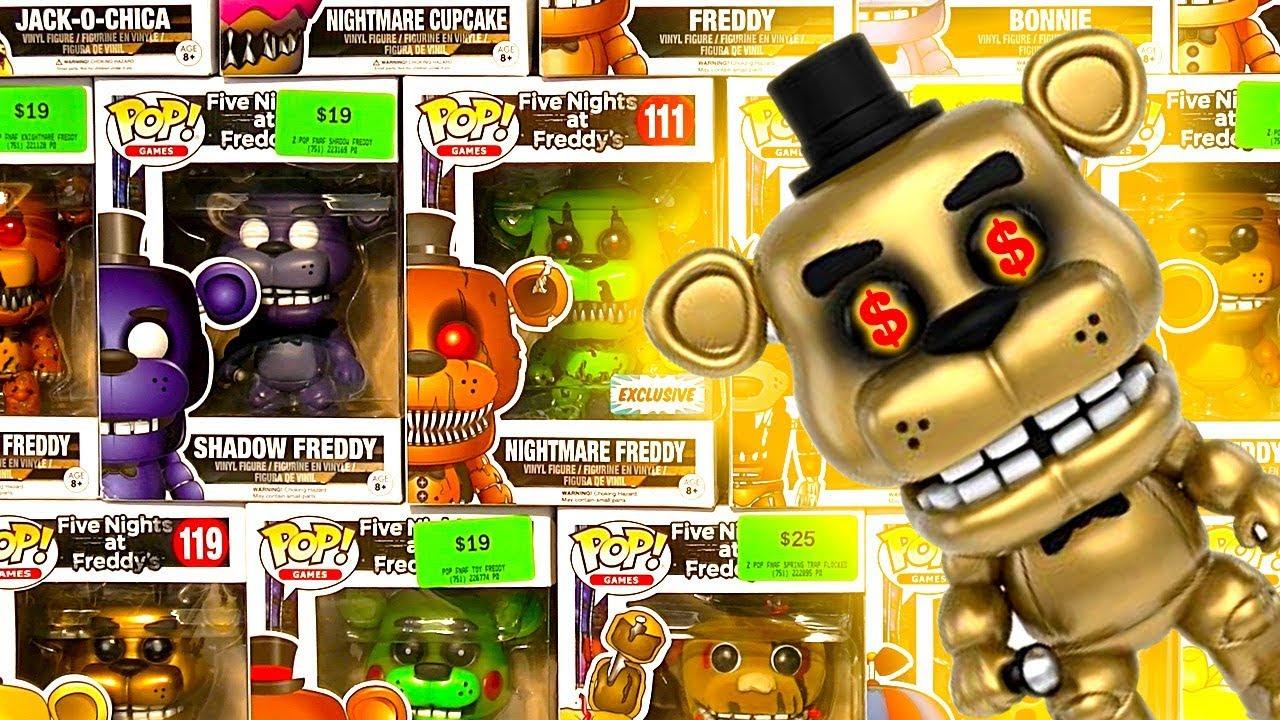 FNaF Huge Funko Pop Collection Prices LEGO MOC & $10000.00 ...