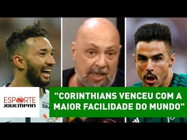 """""""Corinthians venceu com a maior facilidade do mundo"""", diz Nilson"""