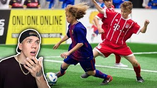 Europas beste U15-Fußballer | FC Barcelona, ManUnited, FC Bayern, AC Milan, Ajax..