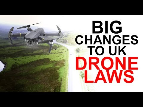 Big Changes To UK Drone Laws 2017!!