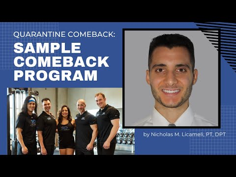 QUARANTINE COMEBACK #5 - Practical Application with a Sample Athlete from YouTube · Duration:  23 minutes 44 seconds