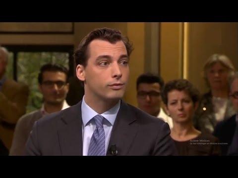 Thierry Baudet in debat met VVD'er over islam
