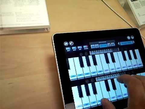 IPad Piano Test