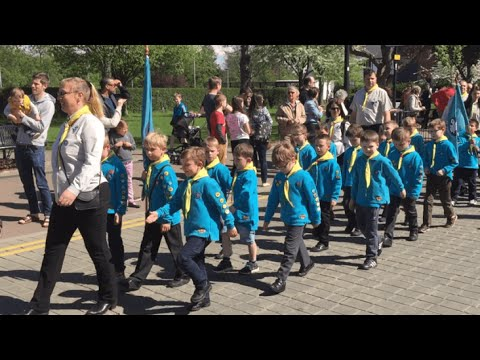St.George's Day Parade West Bridgford
