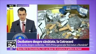 Ministrul Sanatatii Vlad Voiculescu - Nu modificati legea antifumat!