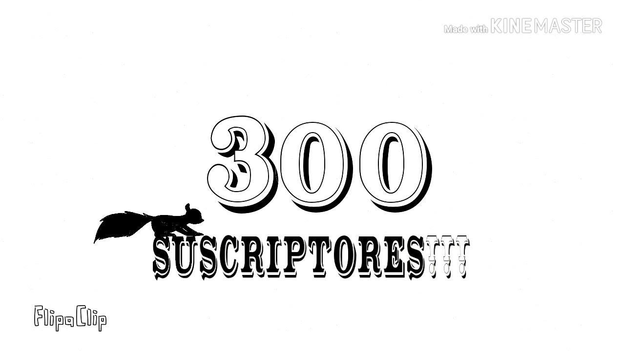 Ya somos 300 subs!! :D!!