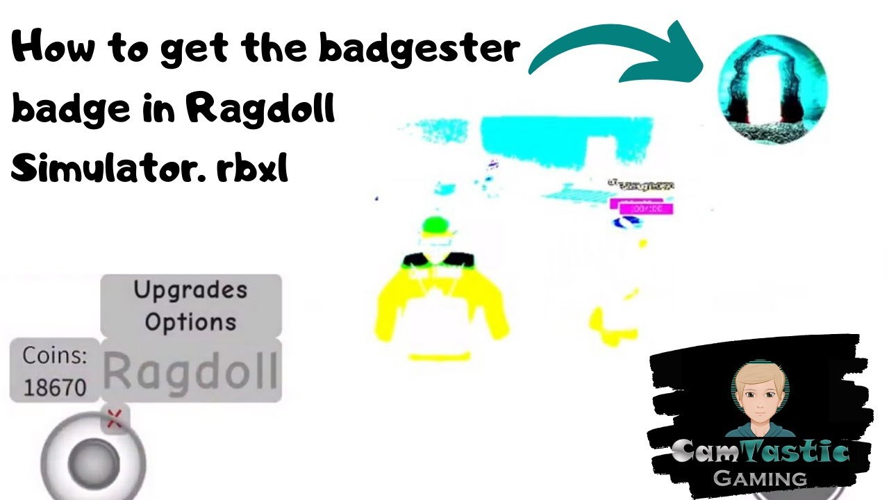 Roblox Ragdoll Simulator .rbxl Riddle How To Get The Badgester Badge In Ragdoll Simulator Rbxl Youtube