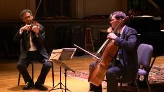 W. A. Mozart  Piano Trio K. 502/2 Larghetto