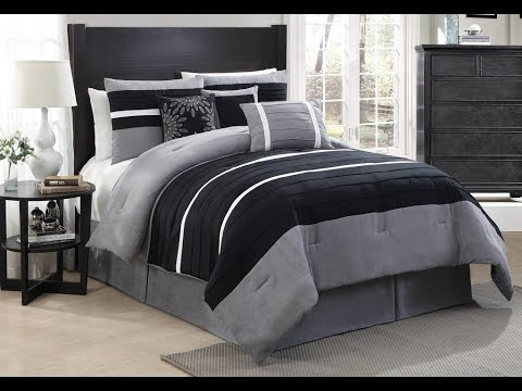 cool dark grey comforter ideas