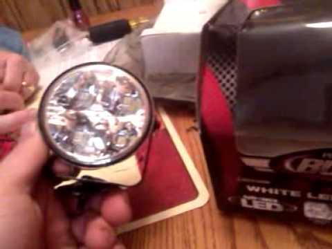 Burners racing led lights review - YouTube