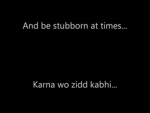 Yahin Hoon Main - English Subtitles - Lyrics - Singer Ayushmann Khurrana