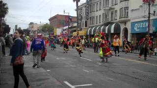 san Francisco  carnaval grand parade. May 27 2012.