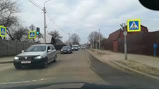#Бобруйск, ул Гоголя за 3 минуты. Покатушки