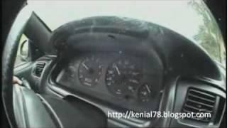 Conduciendo en silla de ruedas a 80Km/h