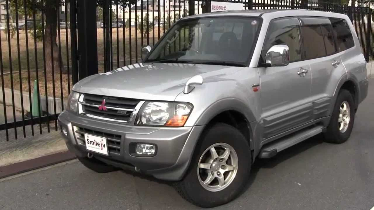 Smile Jv Mitsubishi Pajero Super Exceed 2001 Youtube