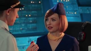 Гражданская авиация - лучшая профессия на борту самолета | На троих комедия, Украина онлайн юмор