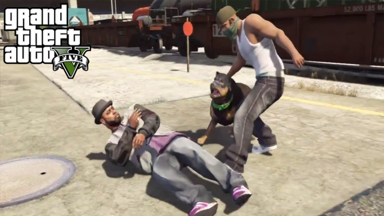 Chop - GTA V Mission #6 (HD)