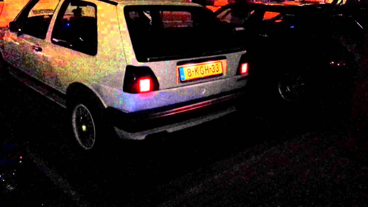 Superieur Backfire With My Volkswagen Golf 2 (MK2) 1.8 8v GTI From 1984 Sound