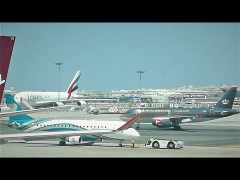 ✈ Queen Alia Int'l Airport Amman   Royal Jordanian Airlines   مطار الملكة علياء الدولي