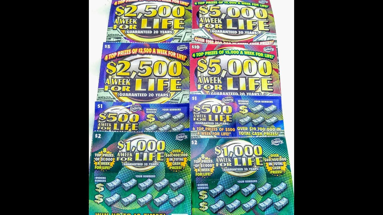 New Florida Scratch offs for july 2017