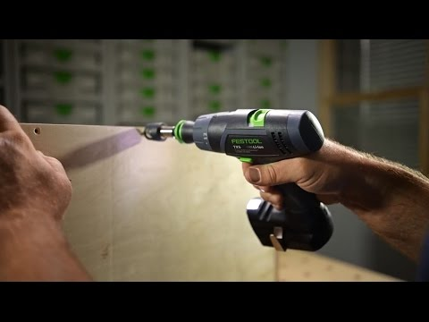 Festool TXS 10.8V 3/8 in. Cordless Drill and Centrotec Set