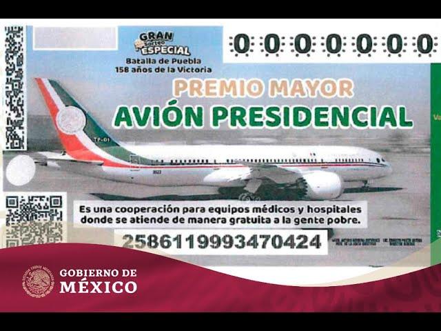 Venta del avión presidencial | Gobierno de México