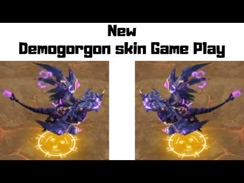 New Demogorgon Skin In Action | Castle Clash