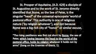 the petrine authority of the papacy post nicene 5th century