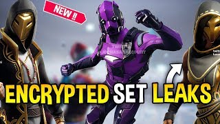*NEW*Fortnite ALL Encrypted Skin Leaked With Full Set (Doggo,Masked Warrior & more...) || HELL-O