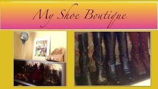 An Organized Home: My Shoe Boutique Organization {how To Organize}