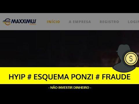 Análise MAXXIMUS FINANCE HYIP, ESQUEMA PONZI, FRAUDE - Criado por Brasileiros!