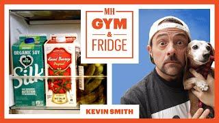 Kevin Smith Shows His Vegan Fridge & Home Gym | Gym & Fridge | Men's Health