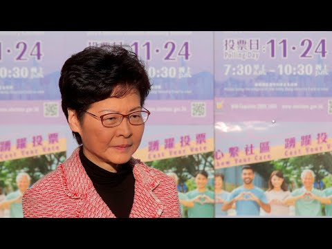 Millions Vote In Hong Kong Elections