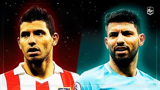 Agero in Atletico Madrid vs Agero in Manchester City  HD