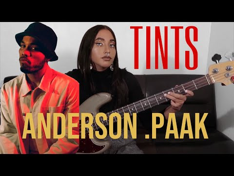 Anderson Paak - Tints ( Bass Cover ) ft. Kendrick Lamar