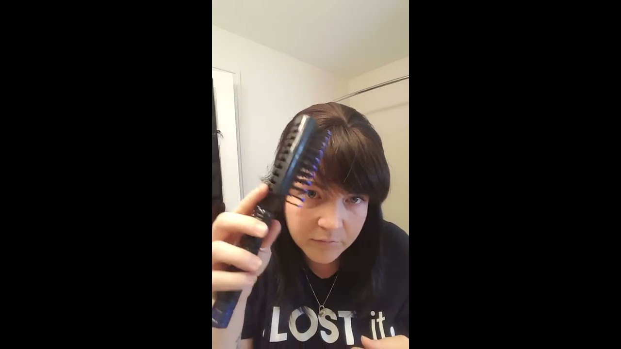 Thin Hair Disguise Up Do With Bangs YouTube
