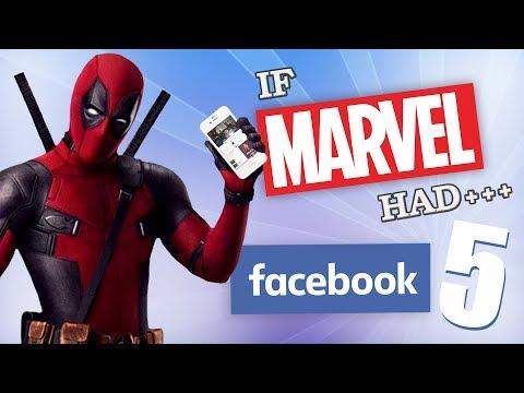 IF MARVEL HAD FACEBOOK 5