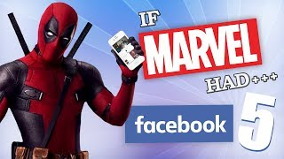 IF MARVEL HAD FACEBOOK 5