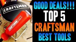 Top 5 BEST Craftsman / Sears Tools -- GOOD DEALS!! thumbnail