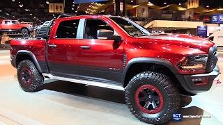 2017 Dodge RAM Rebel TRX Concept - Exterior Interior Walkaround - 2017 Chicago Auto Show