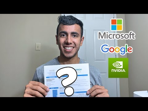Resume For Microsoft, Google, NVIDIA Etc | Secrets Revealed